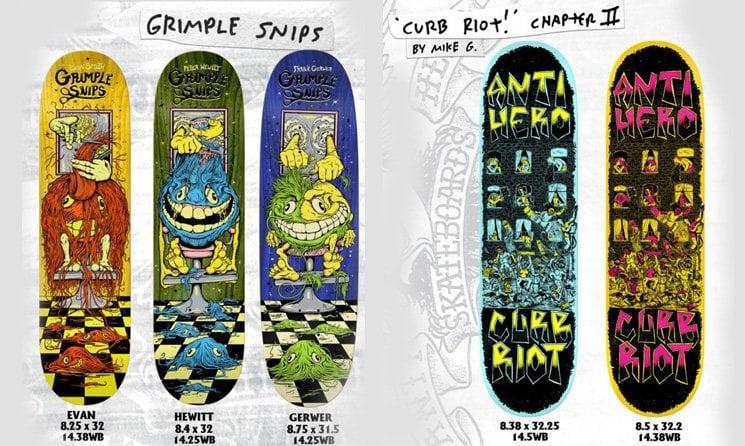 Antihero Skate shop
