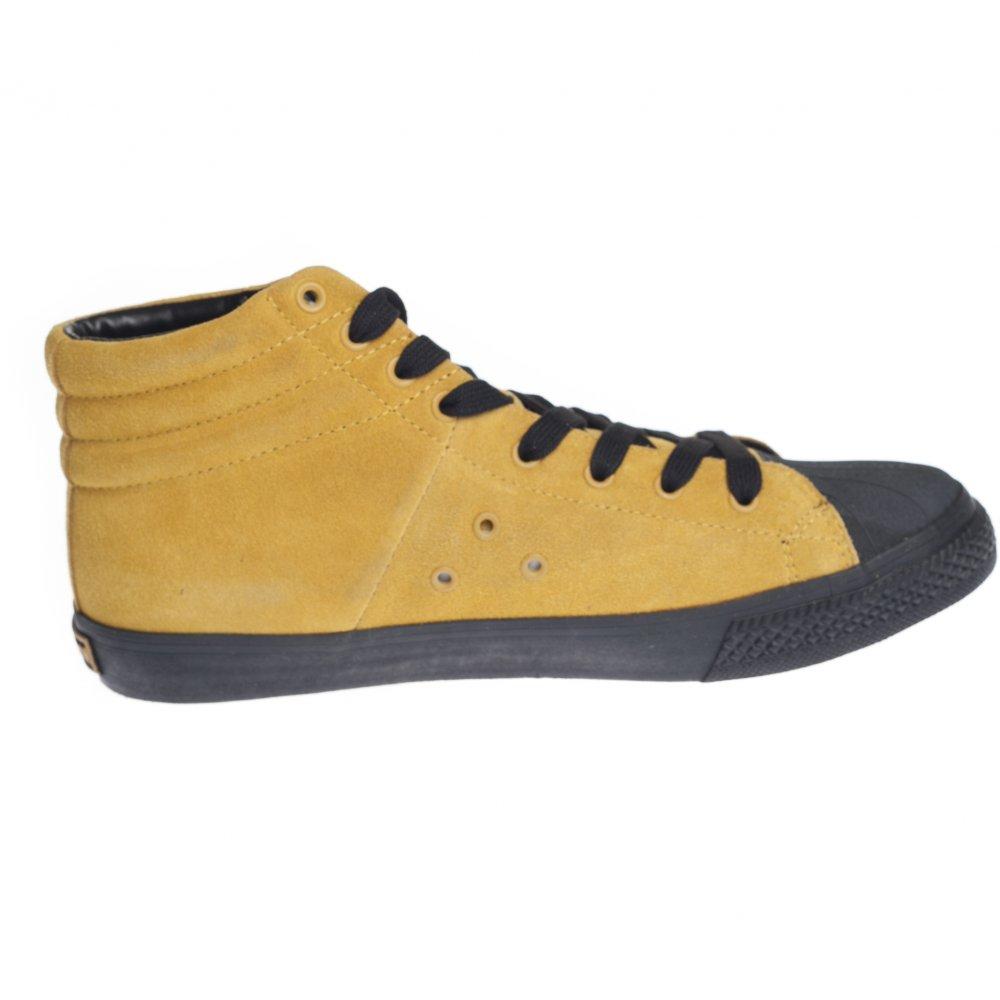 Vision Street Wear Femme Chaussures En Daim Basse Baskets Lemon Lime