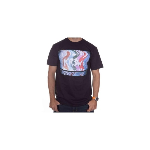 T-Shirt Krew: Static BK, XS