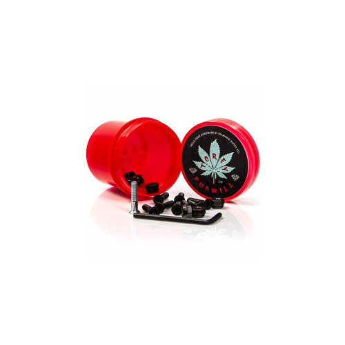 "Vis Diamond: Hella Tight Hardware Torey Pudwill 7/8"" Red"