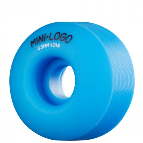 Roues Mini-Logo Skateboards: C-Cut Blue (53 mm)
