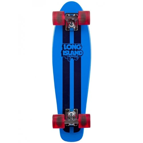 Cruiser Complet Long Island Skateboard: 14A Woody Blue