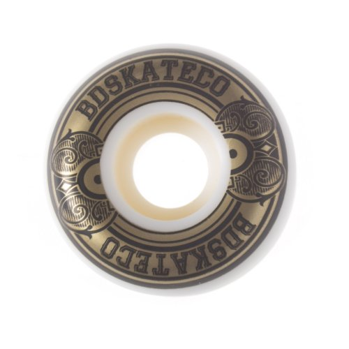 Roues BDSkateCO: Plate Gold (55 mm)