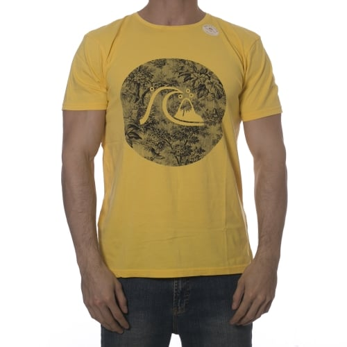 T-Shirt Quiksilver: Garment Dyed Sunset Tunels YL