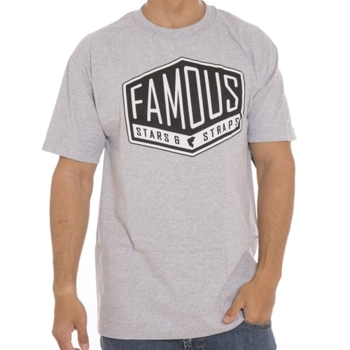 T-Shirts Famous Stars And Straps: Hard Core GR