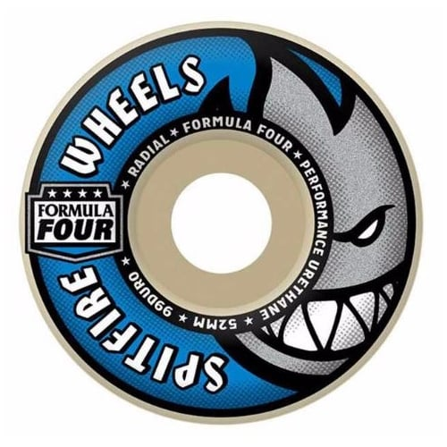 Roues Spitfire: F4 99D Radials (52 mm)