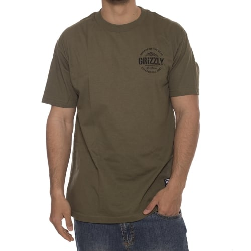 T-Shirt Grizzly: All Terrain Military Green GN