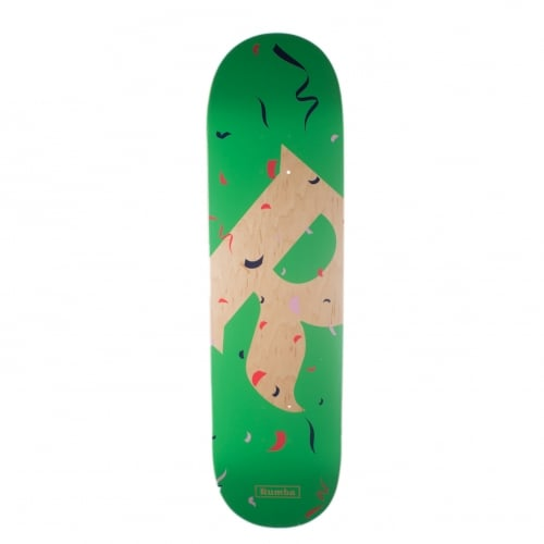 Planche Rumba Skateboarding: Party Piñata Green 8.5