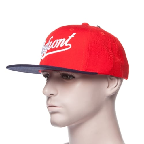 Casquette Up Front: UF1272 - Mix Snapback Cap RD