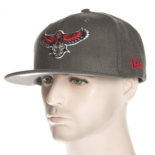 Casquette New Era: NBA Heather Fitted Atlanta Hawks GR