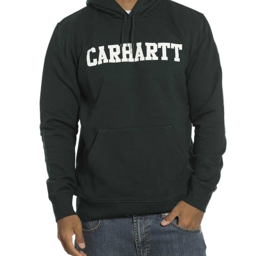Sweatshirt Carhartt: Hooded College Parsley GN