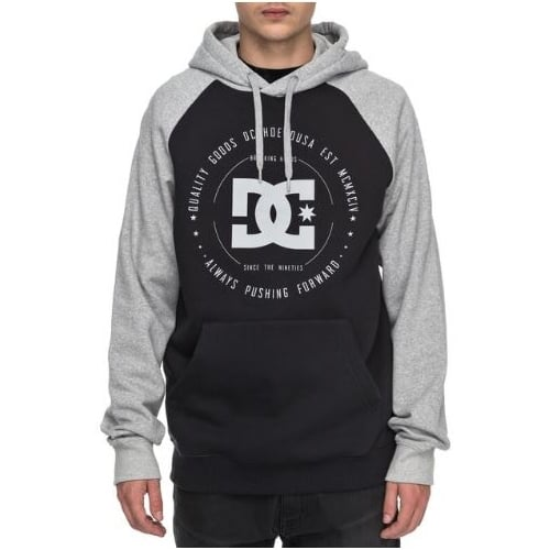 Sweatshirt DC Shoes: Rebuilt PH Ragl BK/GR