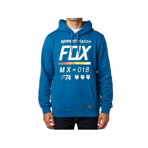 Sweatshirt Fox Racing: District 2 Pullover Fleece BL