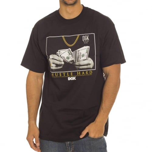 T-Shirt DGK: Counting Loot BK