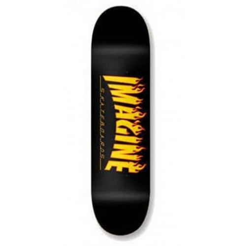 Planche Imagine Skateboards: Flames 8.1