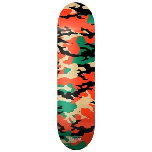 Planche Rumba Skateboarding: Camo Red 8.2