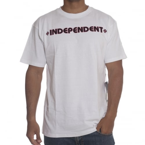 T-Shirt Independent: Bar Cross WH