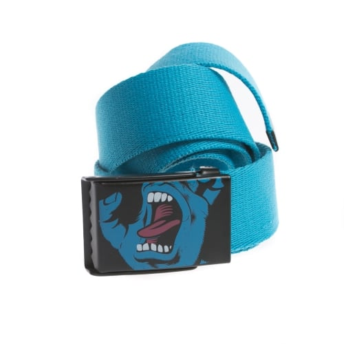 Ceinture Santa Cruz: Belt Screaming Hand Blue BL