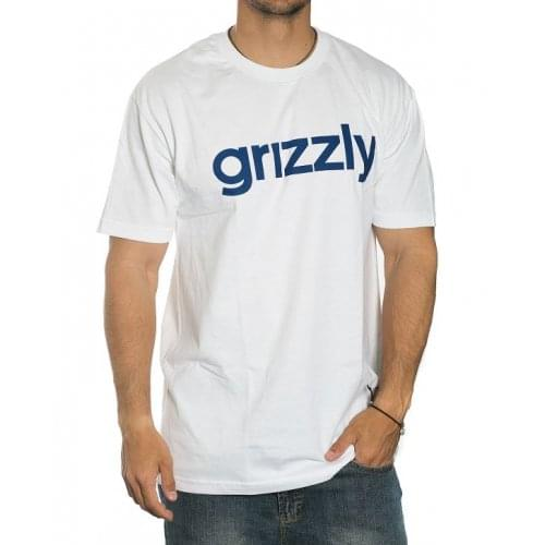 T-Shirt Grizzly: Lower Case WH