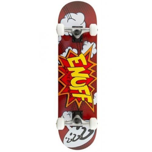 Skate Complet Enuff: Pow Red 7.75
