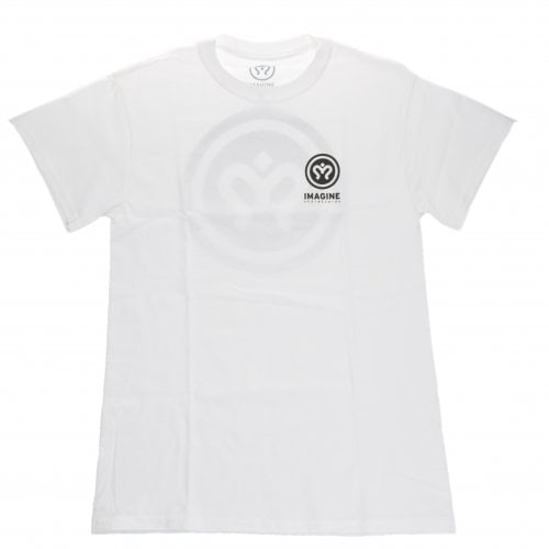 T-Shirt Imagine Skateboards: Icon Tee WH