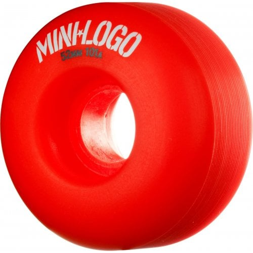 Roues Mini-Logo Skateboards: C-Cut Red (53 mm)