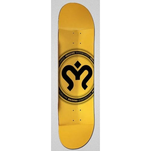 Planche Imagine Skateboards: Medallion Gold 8.2