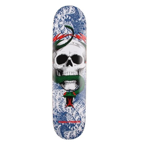 Planche Powell: Skull & Snake Blue-Red 7.625