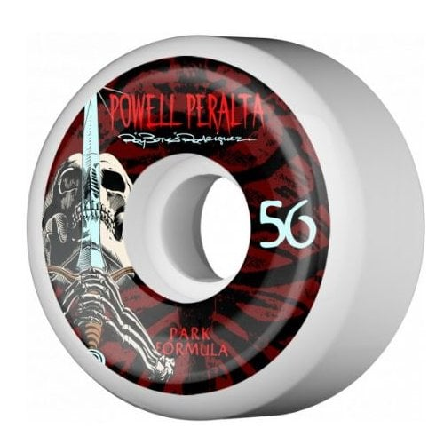 Roues Powell Peralta: Rodriguez Skull and Sword PF (56 mm)