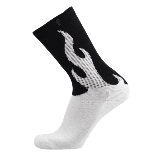 Chaussettes Psockadelic: Flame Glow WH
