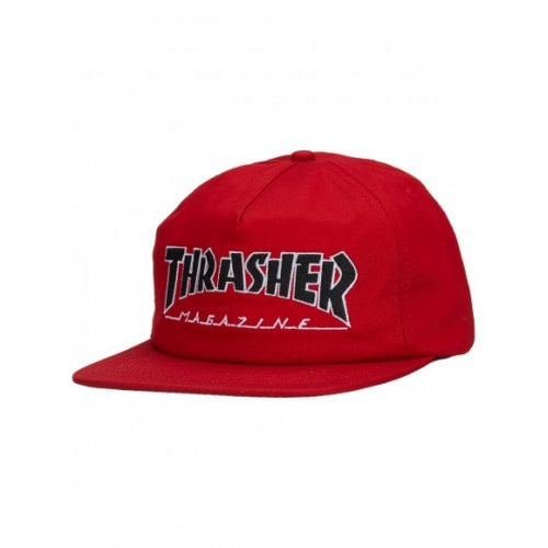Casquette Thrasher: Outlined Snapback RD