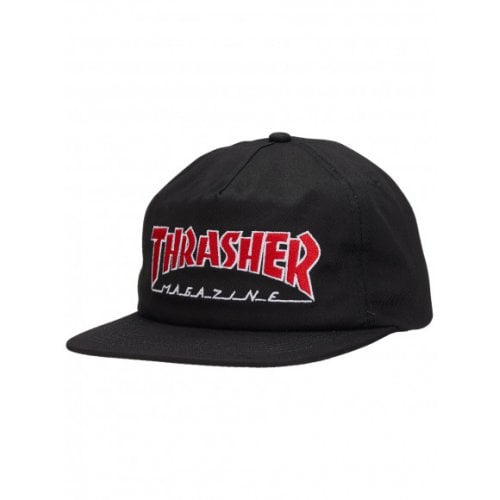 Casquette Thrasher: Outlined Snapback BK