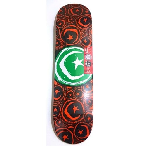 Planche Foundation Skateboards: S & M Stickered 8.375