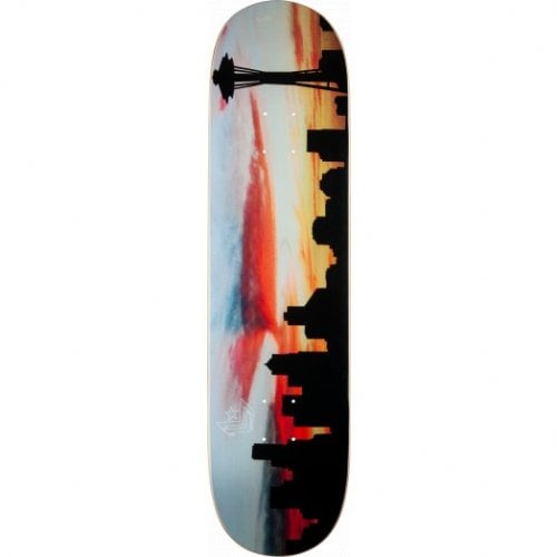 "Planche Mini-Logo Skateboards: Chevron ""11"" Premium City Seattle 8.0"