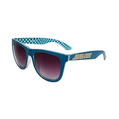 Lunettes Santa Cruz: Fish Eye Ink Blue Check