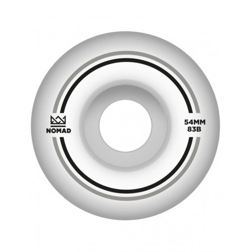 Roues Nomad: Duets Silver Black (54 mm)