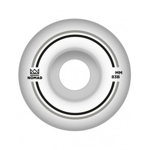 Roues Nomad: Duets Silver Black (55 mm)
