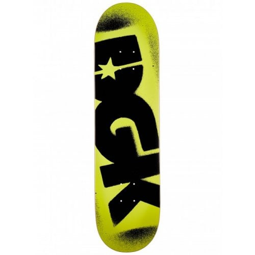 Planche DGK: O.G. Logo Yellow Black 7.9