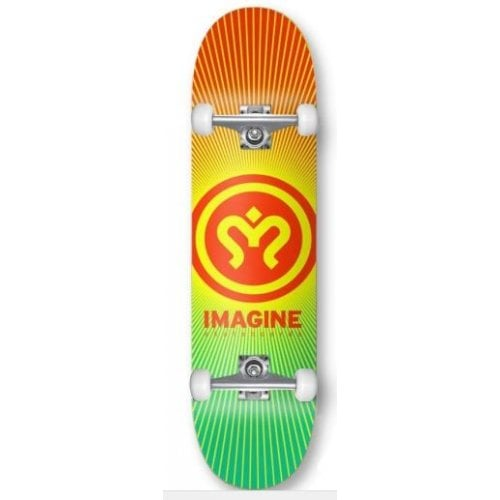 Skate Complet Imagine: Sunrise Red Green 8.0