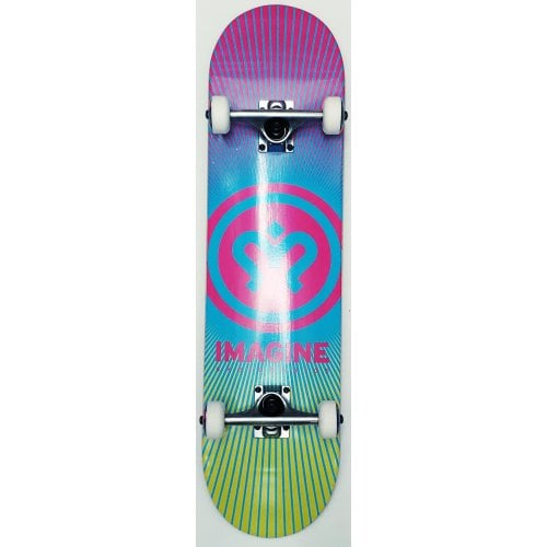 Skate Complet Imagine: Sunrise Pink Yellow 8.0