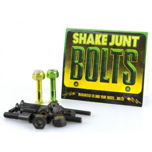 "Vis Shake Junt: Bag o' Bolts 1 Green, 1 Yellow 1"" Phillips"