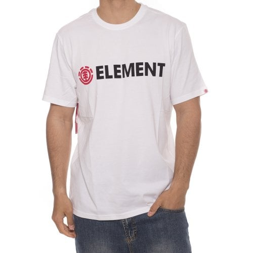 T-Shirt Element: Blazin SS Optic WH