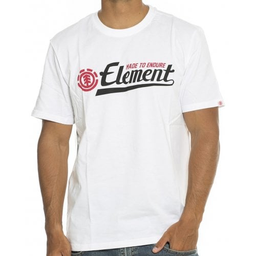 T-Shirt Element: Signature SS Optic WH
