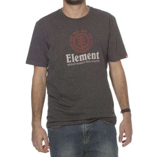 T-Shirt Element: Vertical SS Charcoal GR