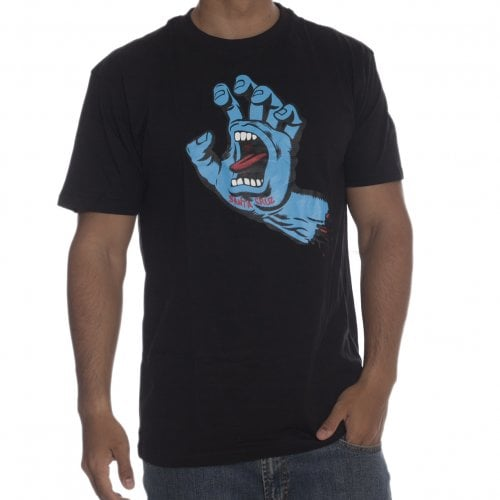 T-Shirt Santa Cruz: Screaming Hand BK