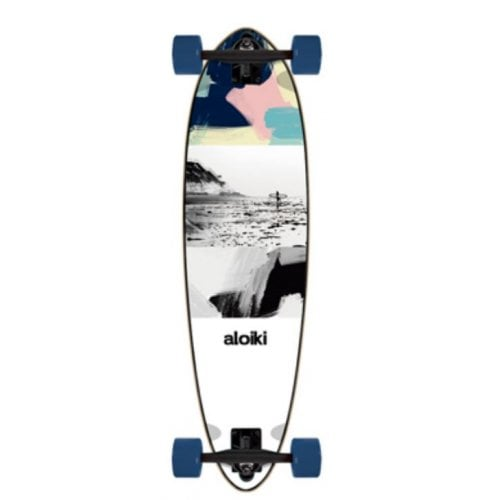 "Longboard Complet Aloiki: Low Tide 33""x9"" Mini Pin"