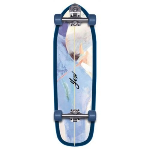 "Longboard Complet Yow: Mundaka 32"" Power Surfing Series Surfskate"