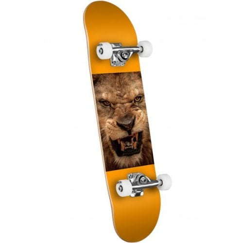 Skate Complet Mini Logo: Chevron 14 - Birch - Lion Eyes 8.25