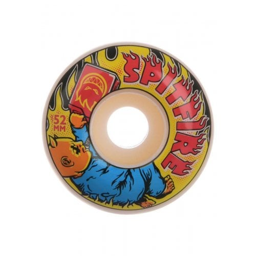 Roues Spitfire: Demonseed 99D White (52mm)
