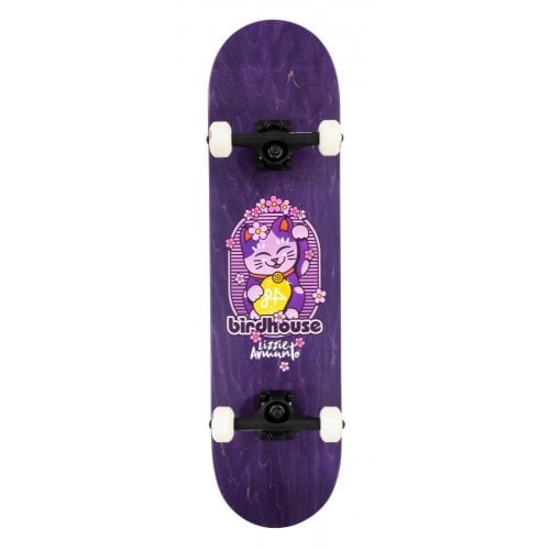 Skate Complet Birdhouse: Stage 3 Armanto Maneki Neko Purple 8.0